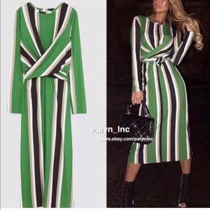 Zara blogger Fav Striped Dress